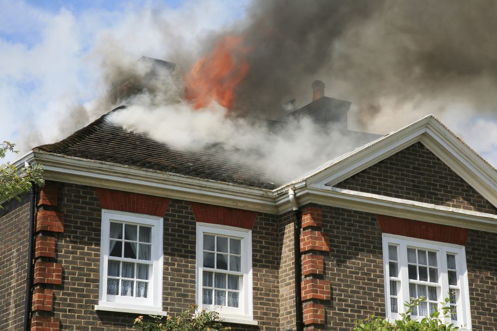 Insurance after house fire